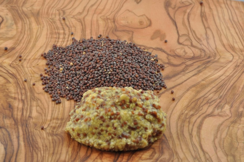 Mustard Seeds, Whole and Prepared