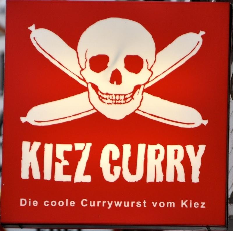 Currywurst poster, Hamburg