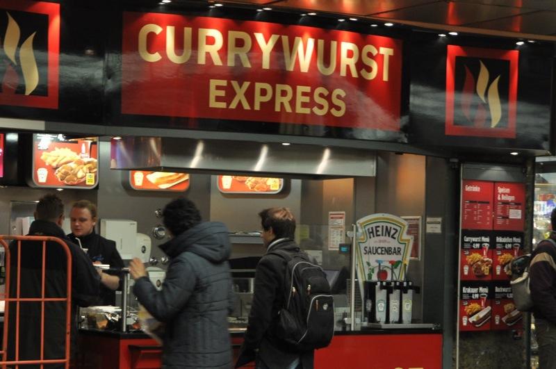 Currywurst stand, Bremen