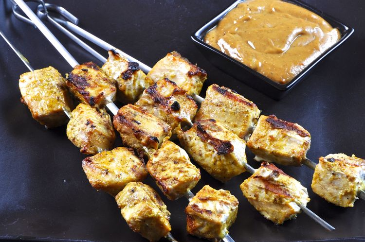 Swordfish Satay Skewers