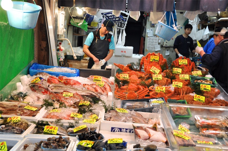 Sushi in tokyo smita chandra for Tsukiji fish market japan