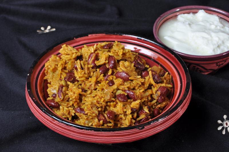 Salsa Rajma Biryani
