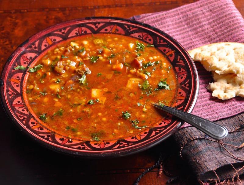 Harira (Moroccan Bean Soup) Recipes — Dishmaps