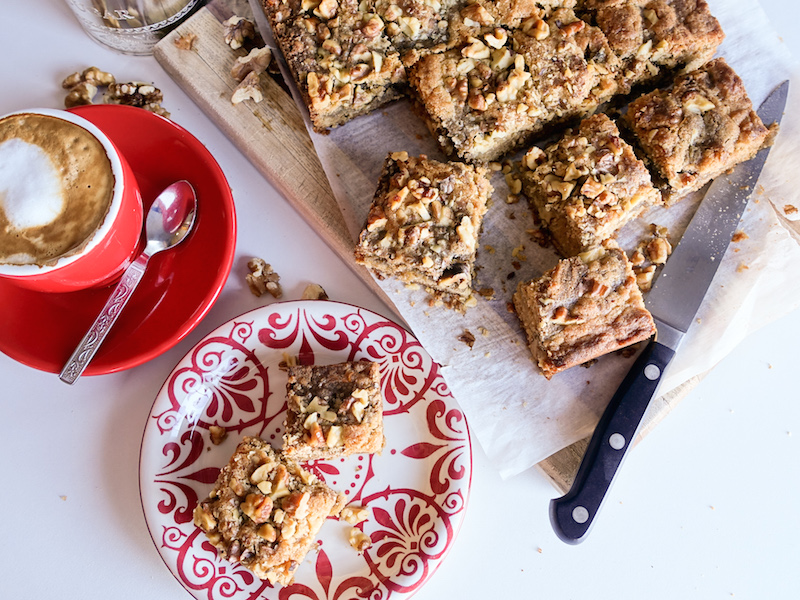 Cardamom Halwa Blondies