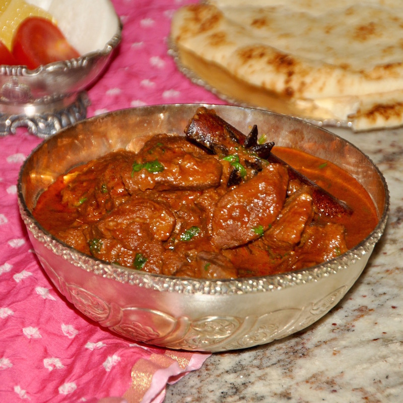 Laal Maas (lamb curry)
