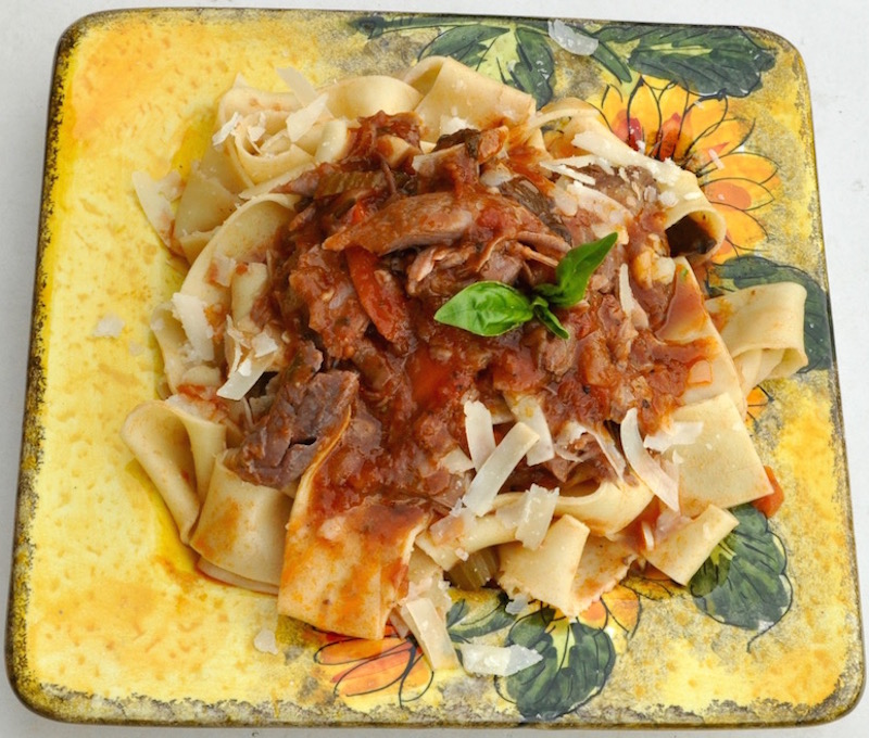 Lamb Ragu With Whole Spices