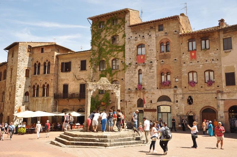 Caprese Salad In San Gimignano