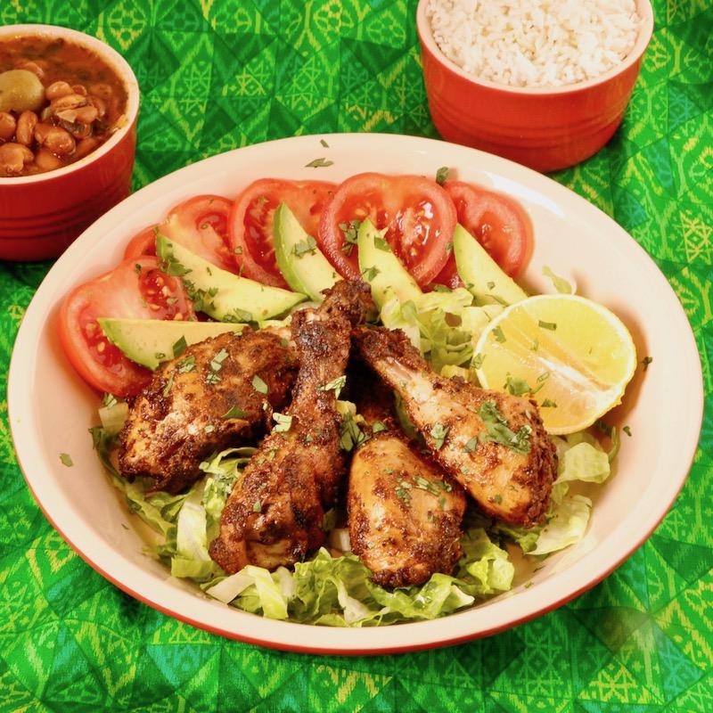 Puerto Rican Baked Chicken