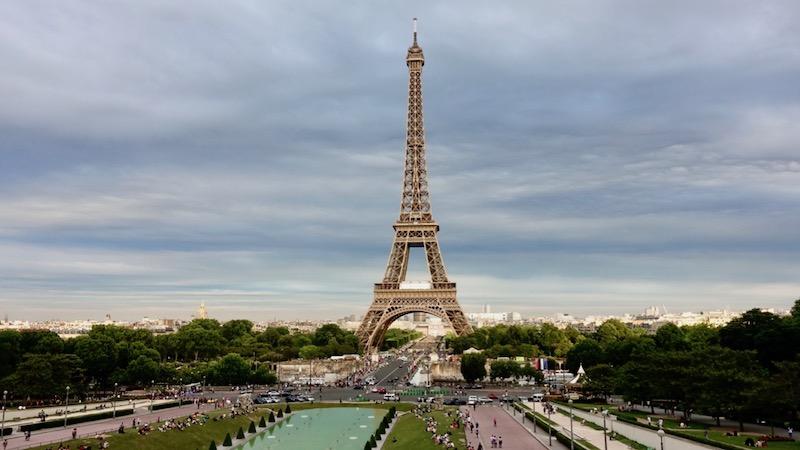 Croque Monsieur In Paris