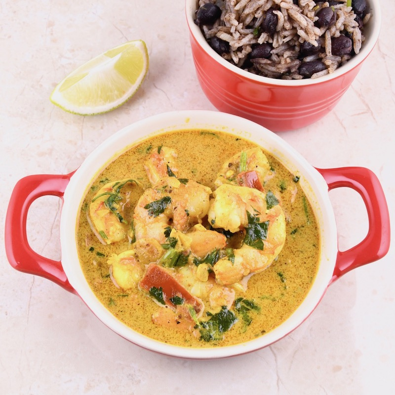 Jungle Shrimp Curry