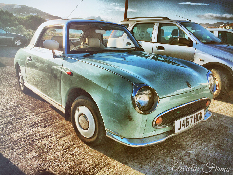 Nissan Figaro in   Mykonos Greece