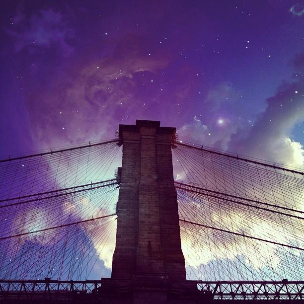 Brooklyn Bridge #nyc #newyork #ny #instagood #instamood #instagramers #picoftheday #tweegram #instadaily #photooftheday #bestoftheday #architecture #building #iphonesia #olloclip #brooklyn #usa (Taken with Instagram at Brooklyn Bridge)