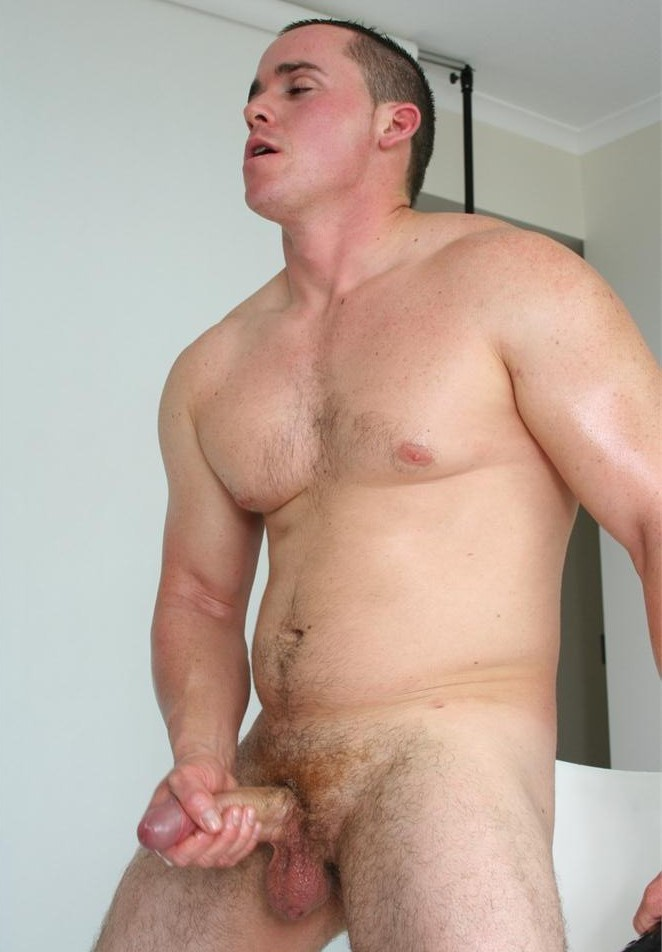 Hot mature guy solo wanking
