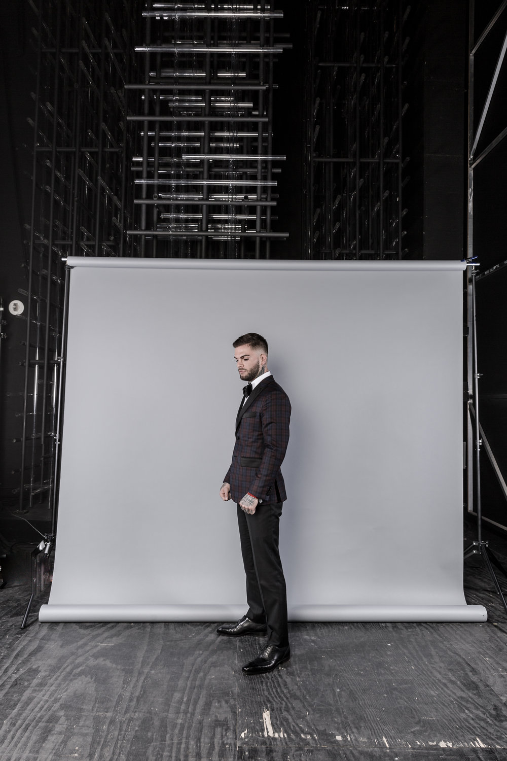 Portrait of UFC star Cody Garbrandt, backstage at the World MMA Awards.