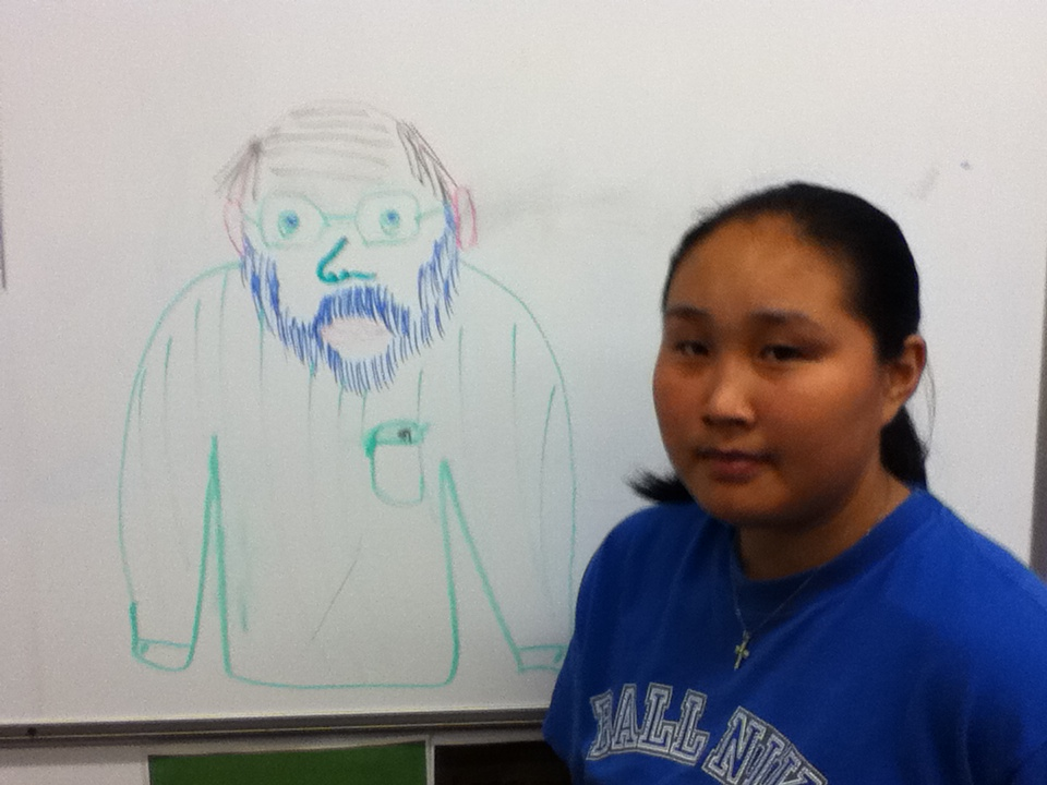 lena draws Kyle Pratt