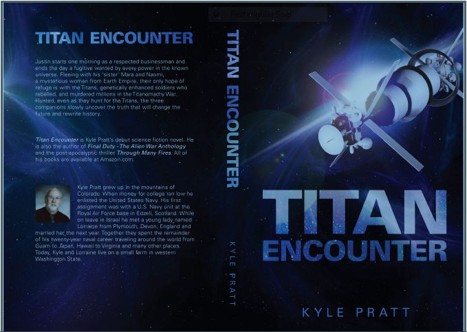 Titan Encounter paperback covers