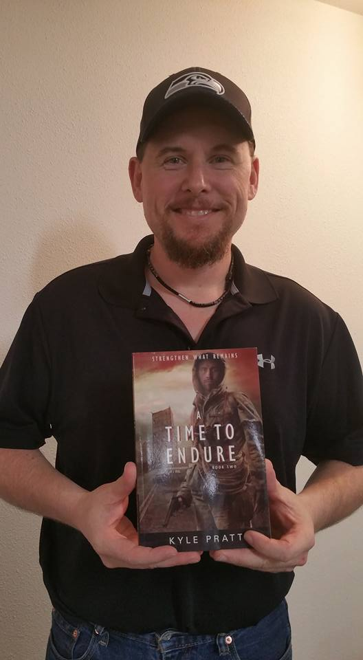 Don from Lacey, Washington State, with a copy of  A Time To Endure.