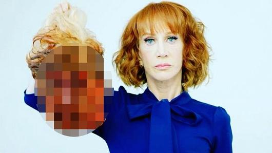 Kathy Griffin thinks this is funny.