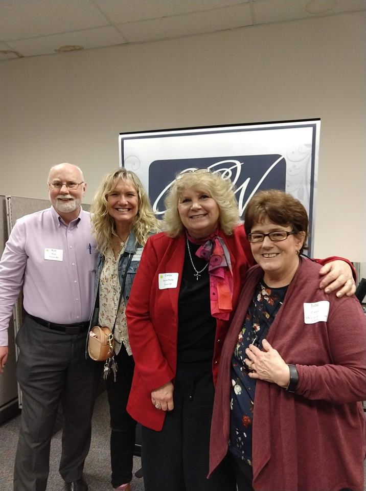 Kyle Pratt, Cornelia Becker Seigneur, Carrie Stuart Parks. and Julie Zander