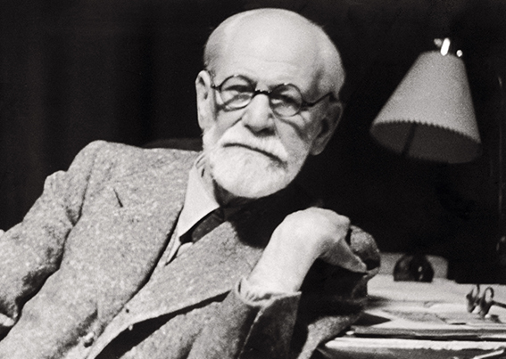 Sigmund Freud - obturator wearer like me.