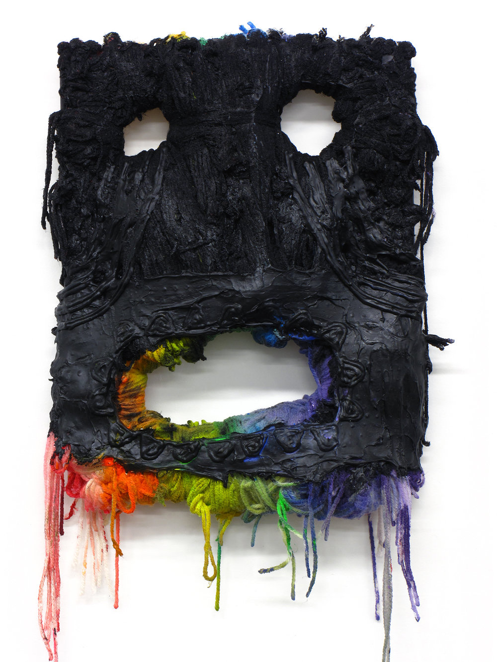 Mask for Hunting Rainbows (Rainbow Mouth)