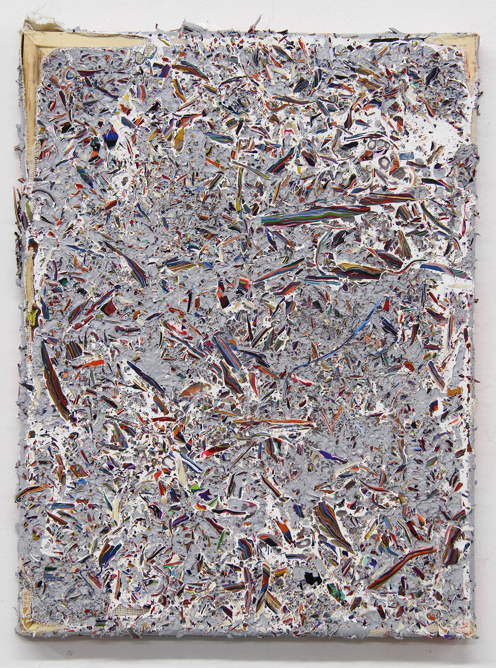 Shredded Painting 21