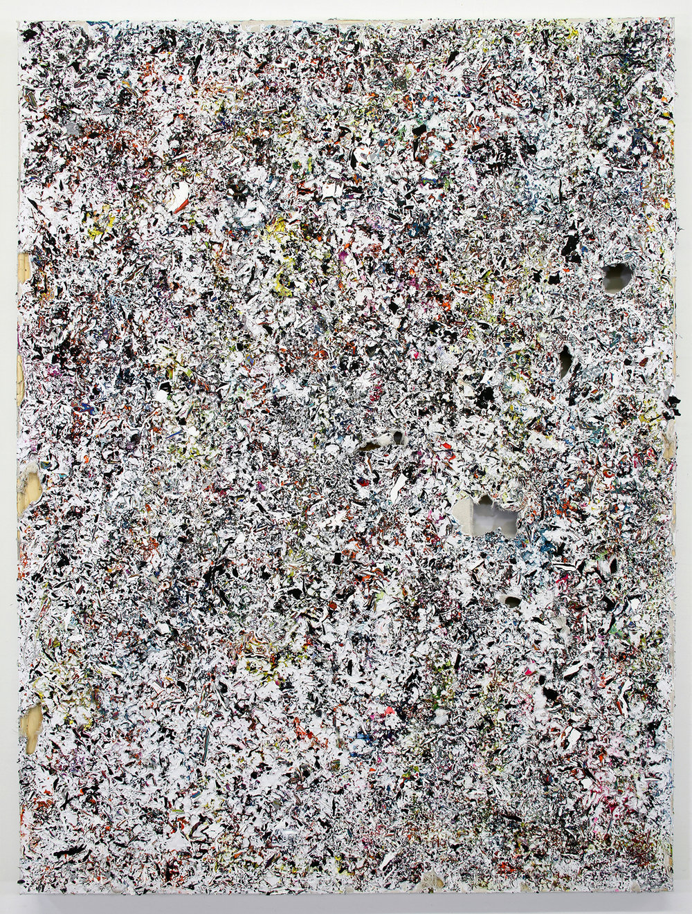 Shredded Painting 17