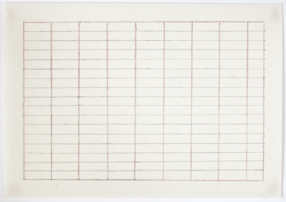 Fig 3.5  | Grid drawing by Agnes Martin