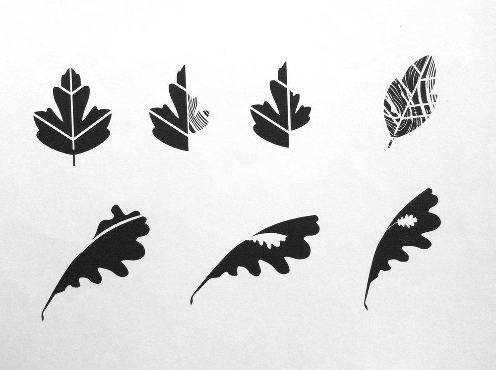 STUDIO 9 / logo sketches