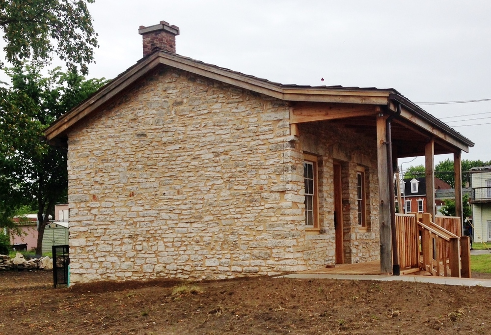 Old French Stone House Restored - Stone Works - Lee Lindsey