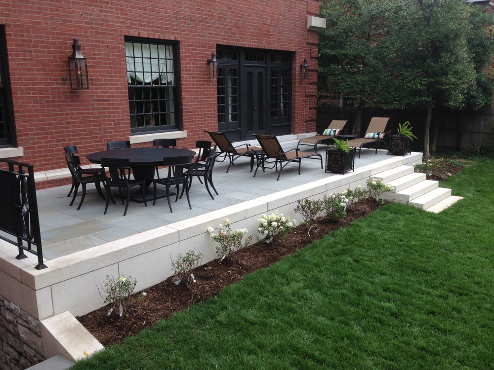 Cast Stone Walls, Copings and Steps