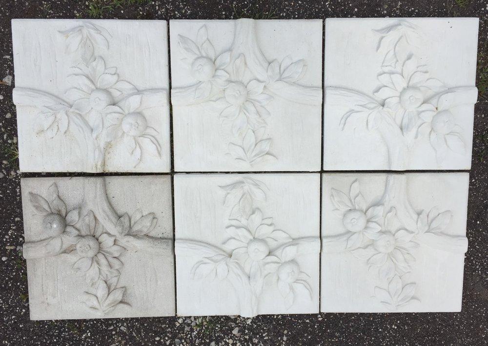 Duplicated Cast Stone