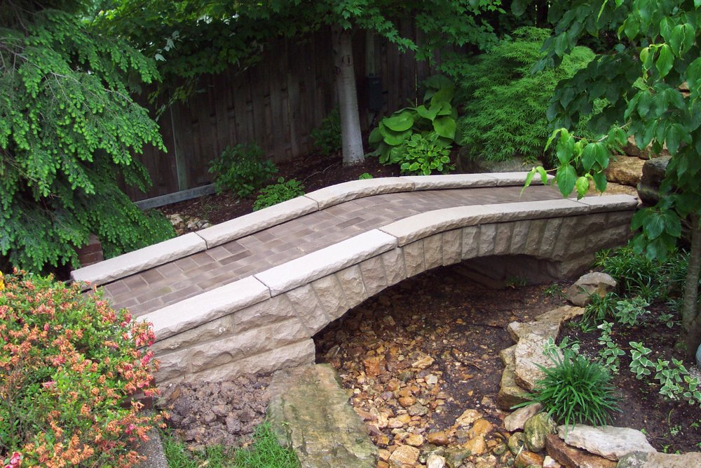 A Finished Stone Bridge