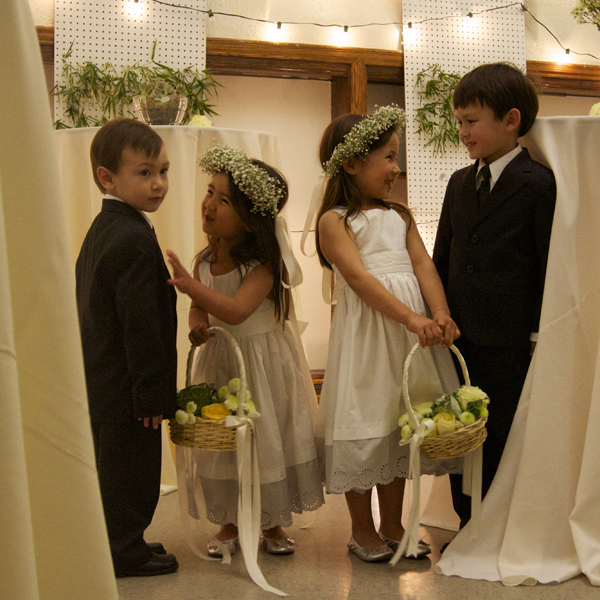 flowers girls + ring bearers