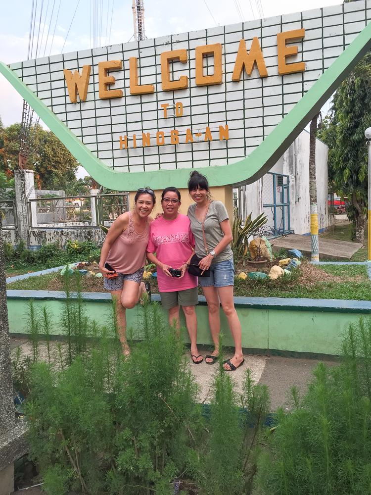 Mona, mom and me in Hinoba-an