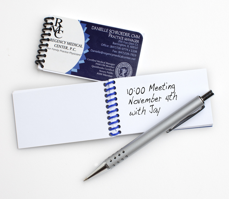 Business Card Notepads by Kwikjots