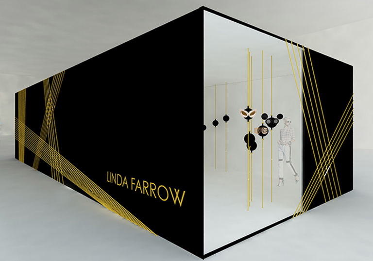 Linda Farrow Pop-up, New York Fashion Week