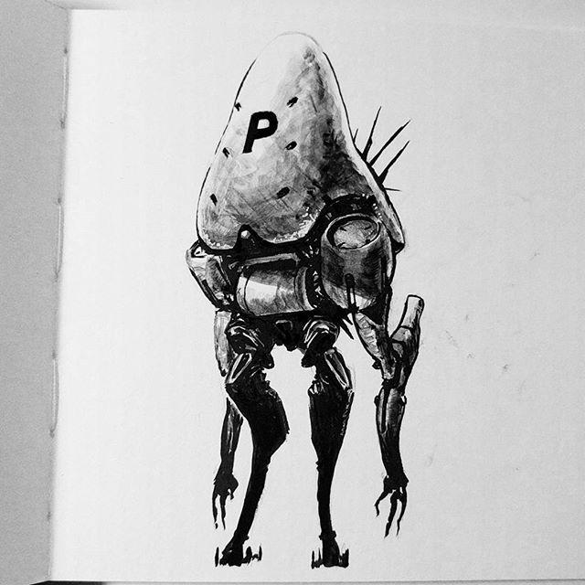 Mushroom bot? I dunno.