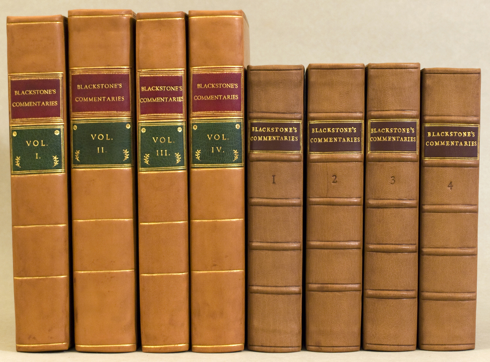 Blackstones Commentaries all 8 vols.jpg
