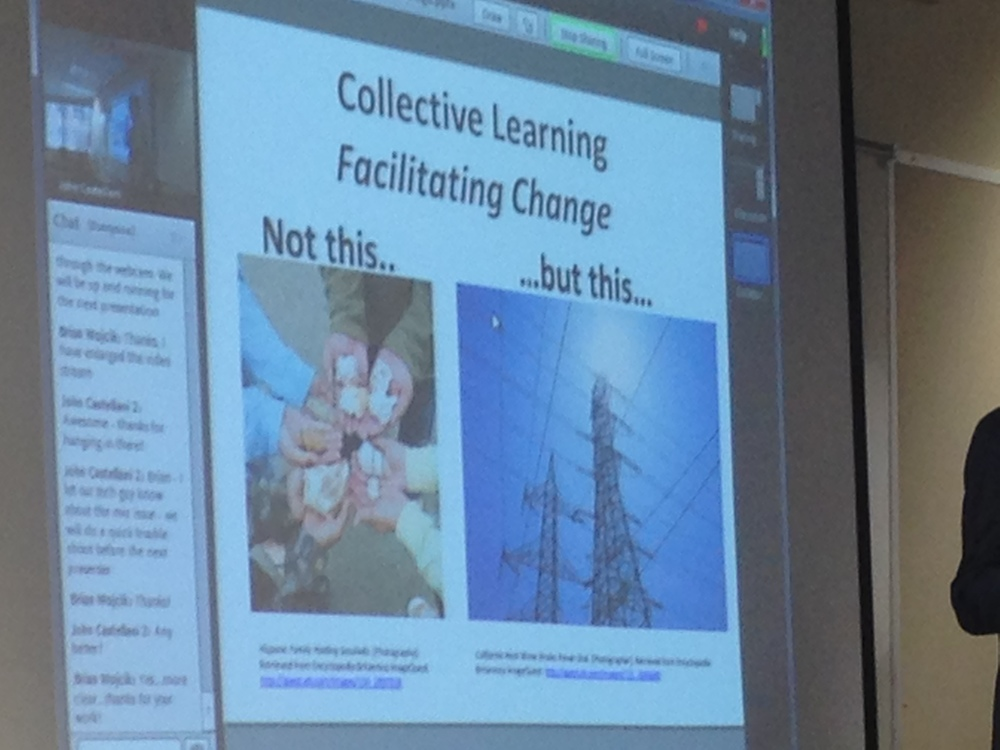Collective Learning-Facilitating Change: Scenes from 2014 UDL-IRN Summit