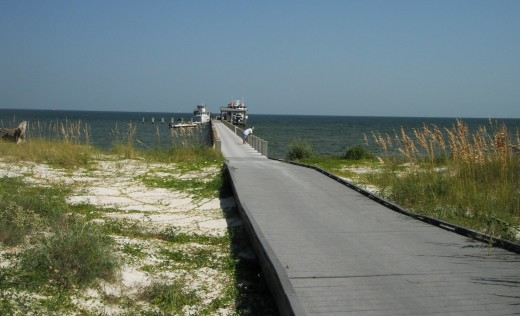 Boardwalk to Gulf