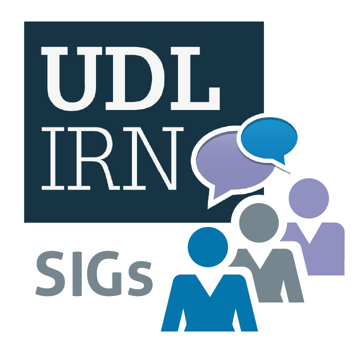 UDL-IRN Special Interest Groups