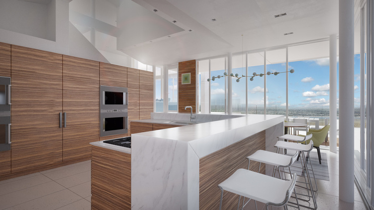 Beach Front Kitchen