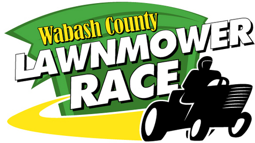 Thunderbird Creative Media's first crack at a logo for the Wabash County Lawnmower Race