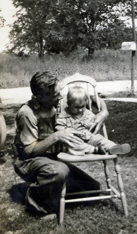 Glenn and Peggy - 1930