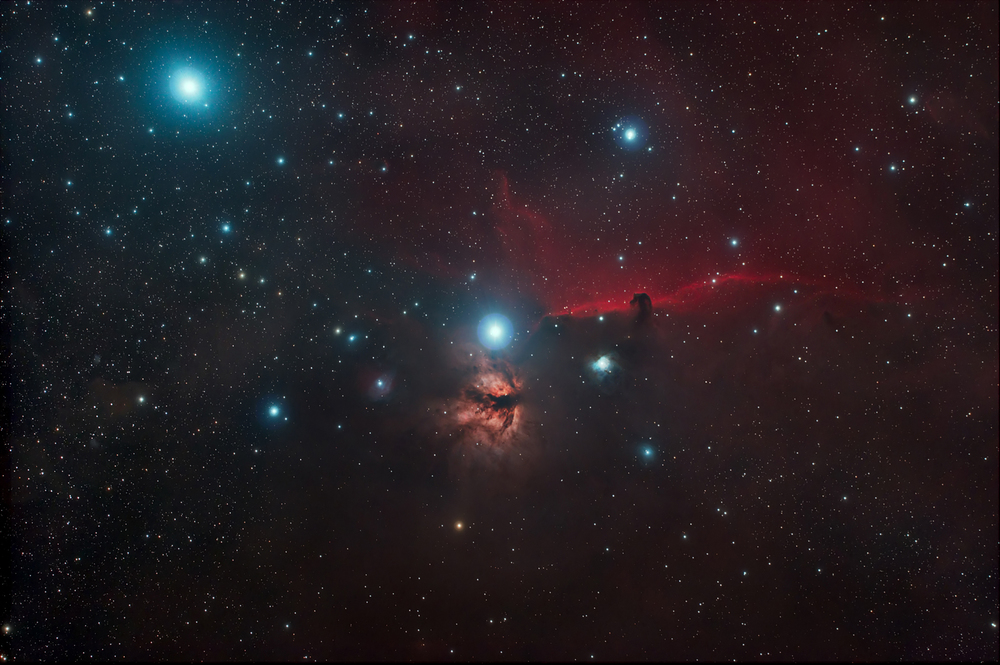 HorseHead and Flame