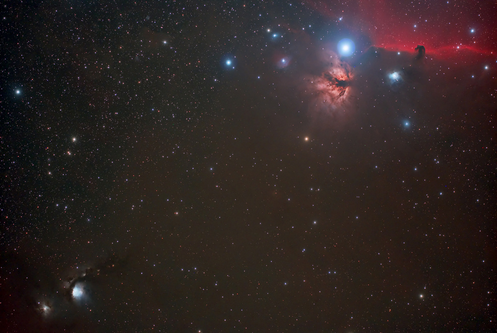 Orion and M78