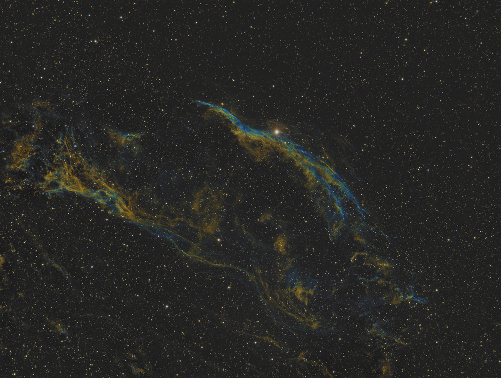 The    Veil Nebula,  Narrrowband