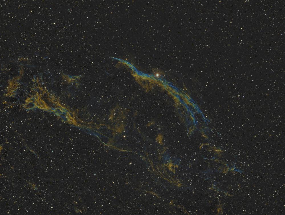 The   Veil Nebula,  Narrrowband