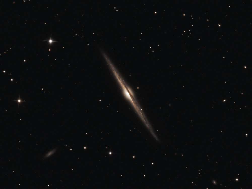 NGC 4565 AKA THE NEEDLE GALAXY